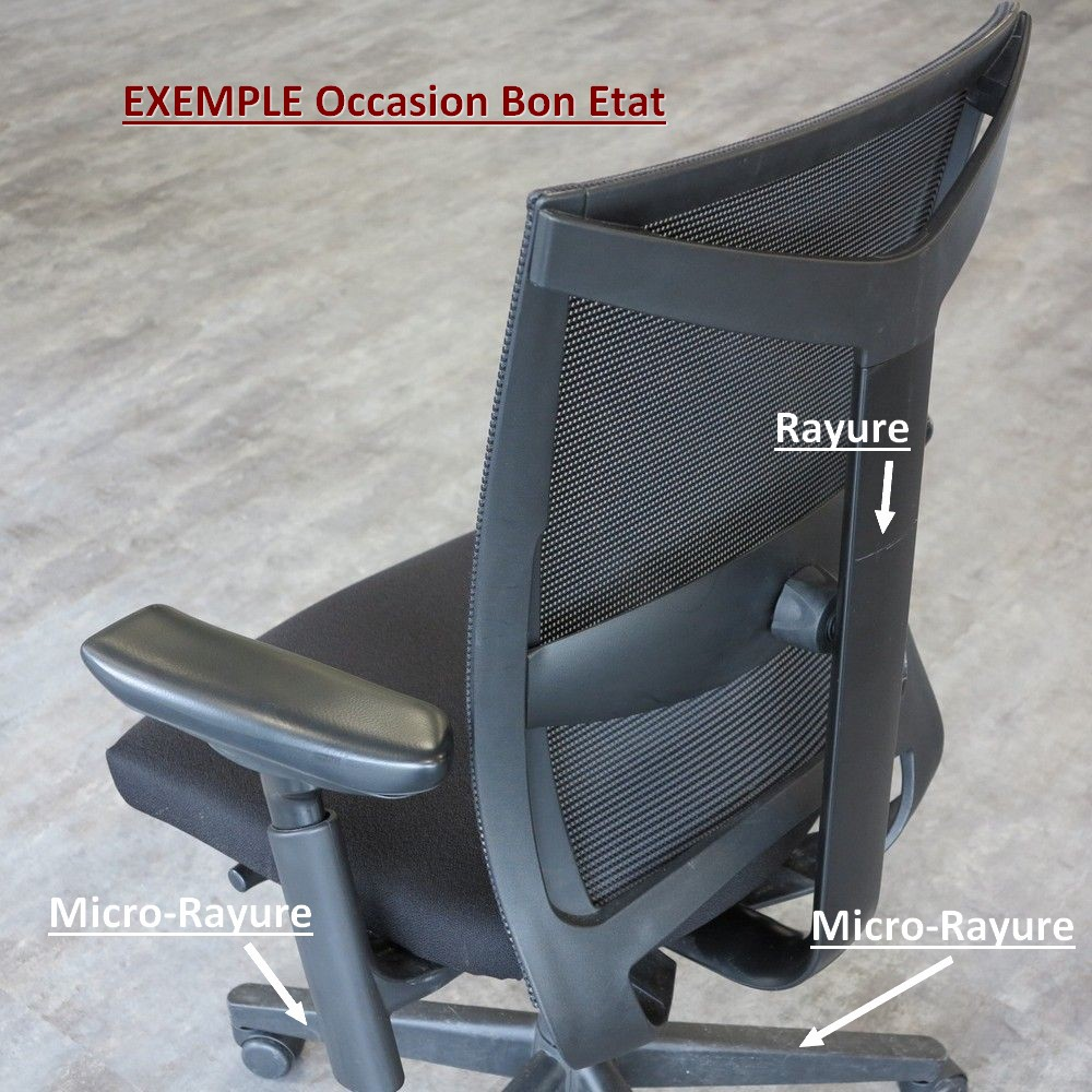 fauteuils professionnels d 39 occasion et r f rentiel niveaux d 39 tat simon bureau. Black Bedroom Furniture Sets. Home Design Ideas