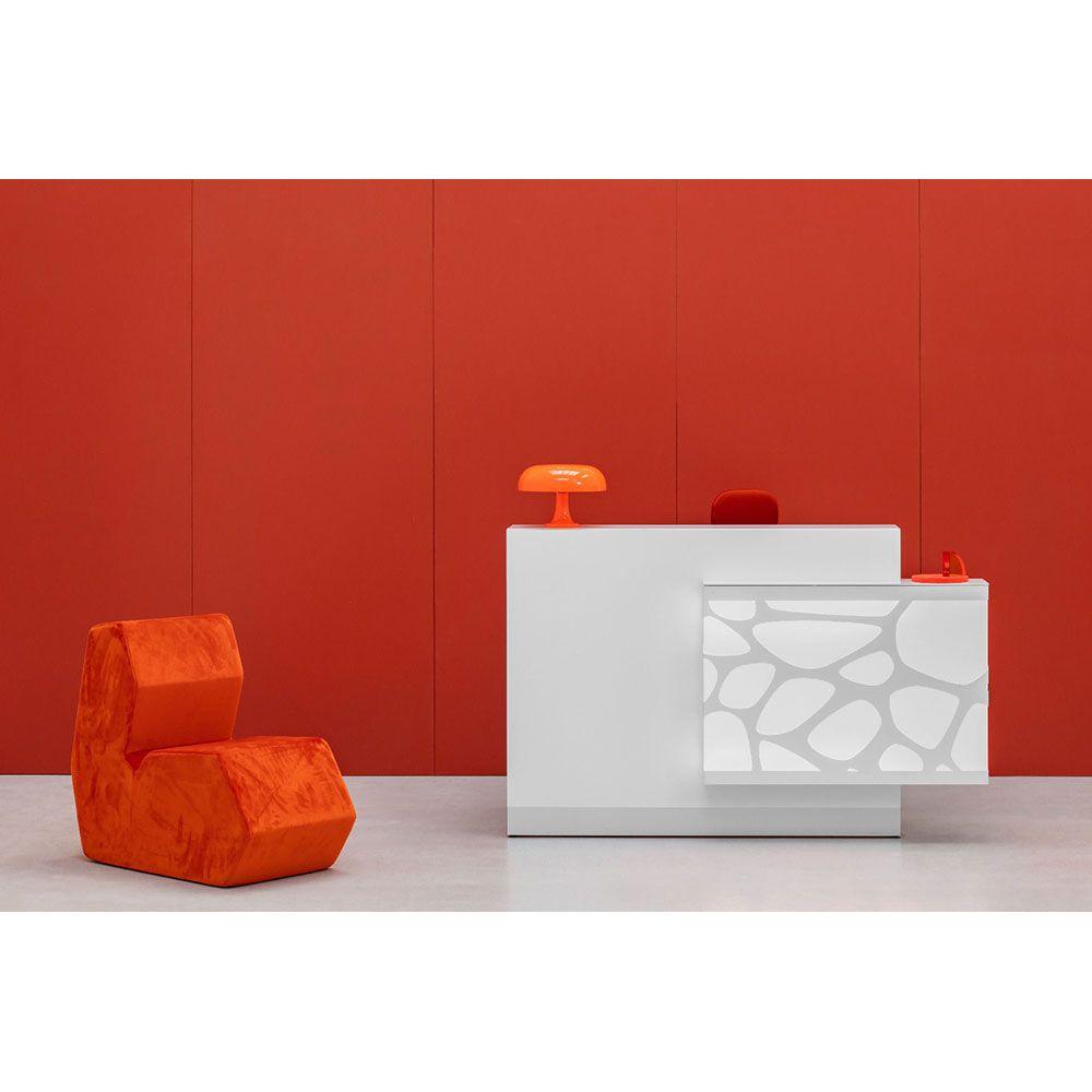 comptoir de r ception laboratoire. Black Bedroom Furniture Sets. Home Design Ideas