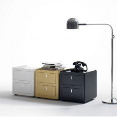 Caisson de bureau couleur ultra bas for Meuble bas de bureau