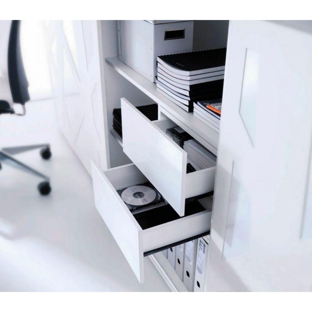 Armoire de bureau design for Armoire bureau blanche