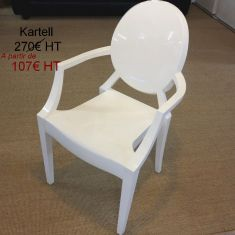 louis ghost siège fauteuil kartell occasion