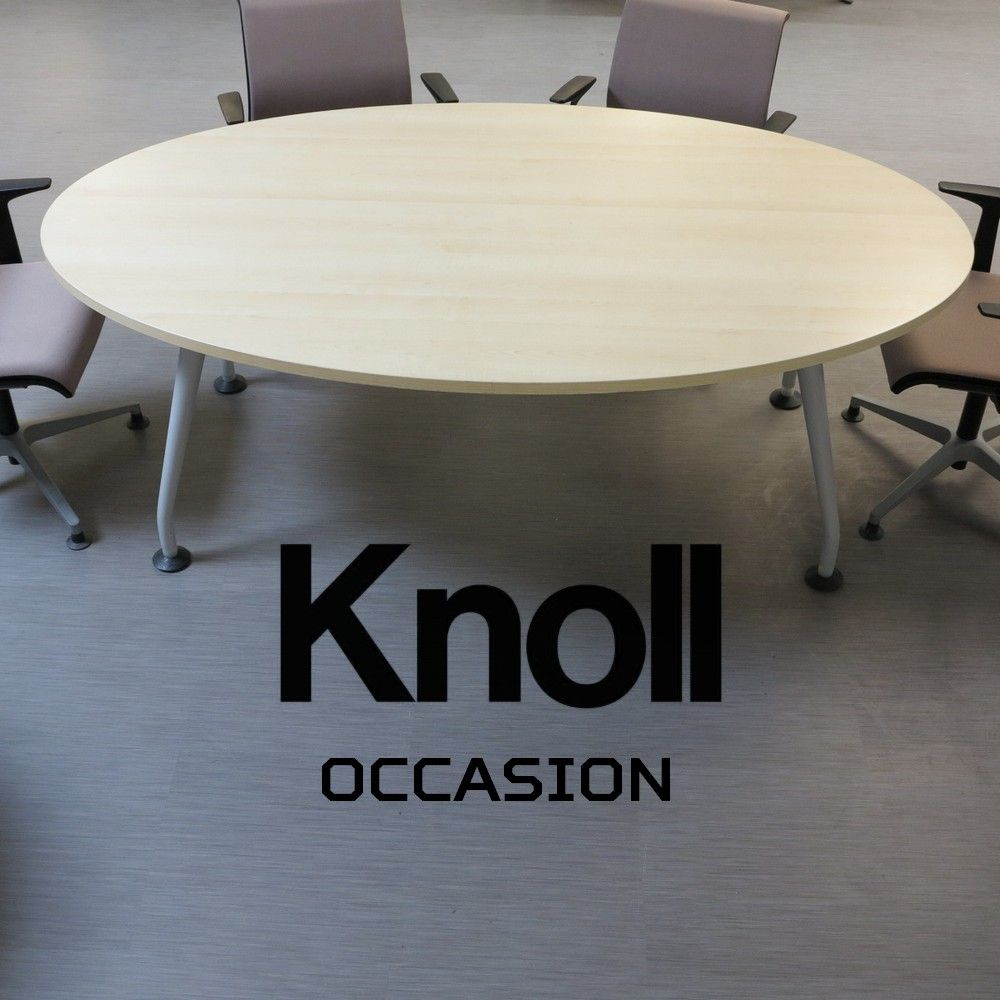 Table ovale knoll 200cm simon bureau - Meubles knoll occasion ...