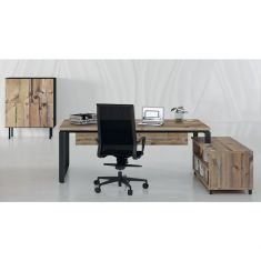 Bureau de direction armoire table