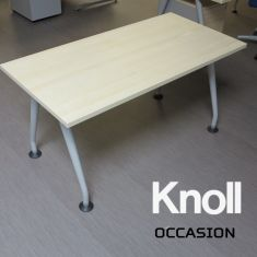 Table ovale werndl for Meuble bureau knoll