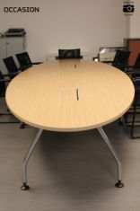 table occasion steelcase ovale
