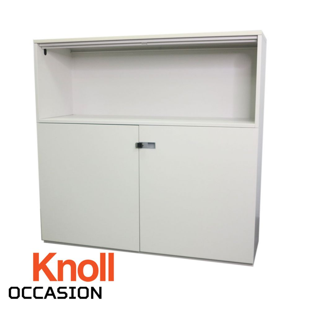 Armoire basse knoll for Meuble bureau occasion yverdon