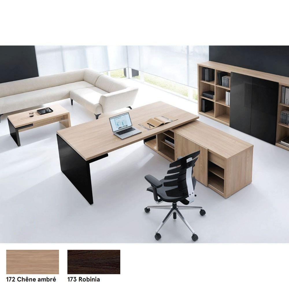 bureau direction laque simon bureau. Black Bedroom Furniture Sets. Home Design Ideas