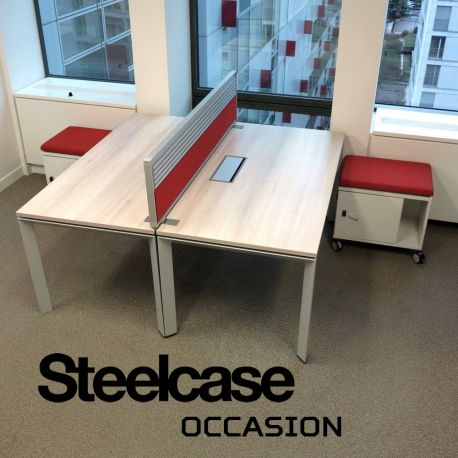 bureau caisson frameone Bench steelcase
