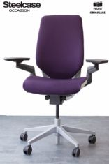 fauteuil le'ts be steelcase occasion