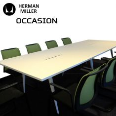 herman miller table réunion occasion
