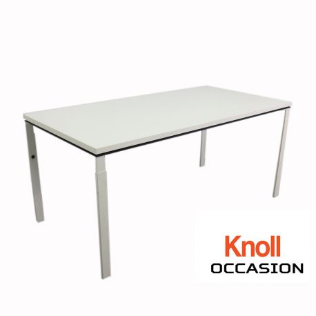 latest bureau knoll blanc occasion with table knoll occasion. Black Bedroom Furniture Sets. Home Design Ideas