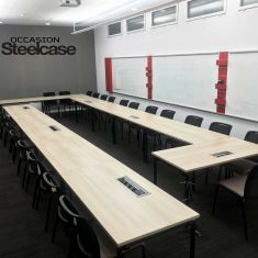 table pliante empilable discount Steelcase