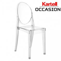 Chaise ghost kartell louis philippe Starck