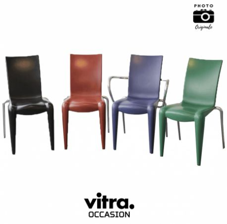 Chaise vitra lot alberto meda empilable