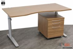 bureau top access caisson mobile câbles