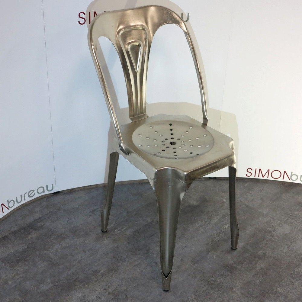 chaise indus loft tolix. Black Bedroom Furniture Sets. Home Design Ideas
