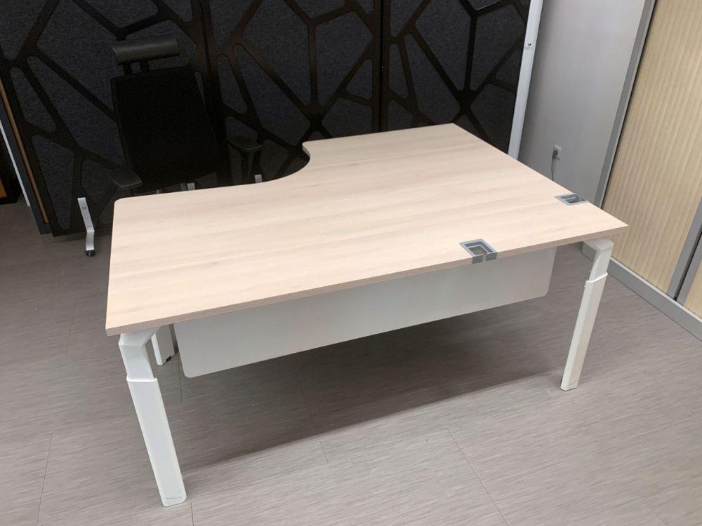 bureau d 39 angle occasion. Black Bedroom Furniture Sets. Home Design Ideas