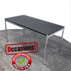 USM HALLER occasion noir table