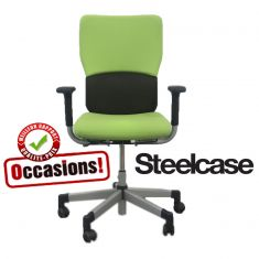 fauteuil let's b steelcase occasion