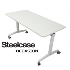 steelcase table basculante roulettes