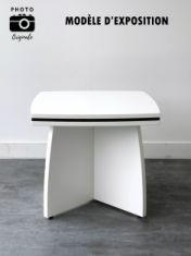 table basse carrée blanche occasion design