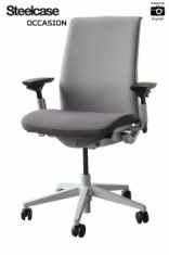 think steelcase fauteuil occasion bureau