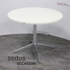 table ronde blanche sedus 90cm