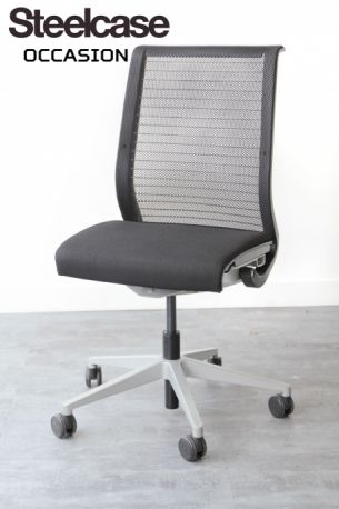 fauteuil think steelcase noir occasion