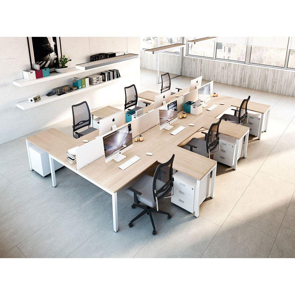 bureau modulaire bench. Black Bedroom Furniture Sets. Home Design Ideas