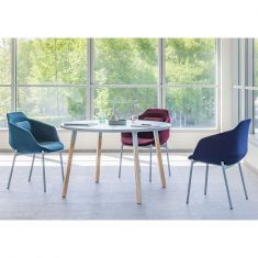 table ronde nordique scandinave