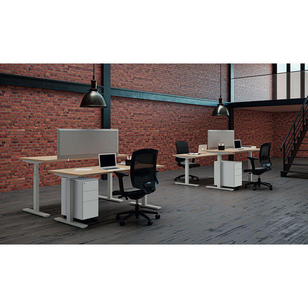 bureau r glable simon bureau. Black Bedroom Furniture Sets. Home Design Ideas