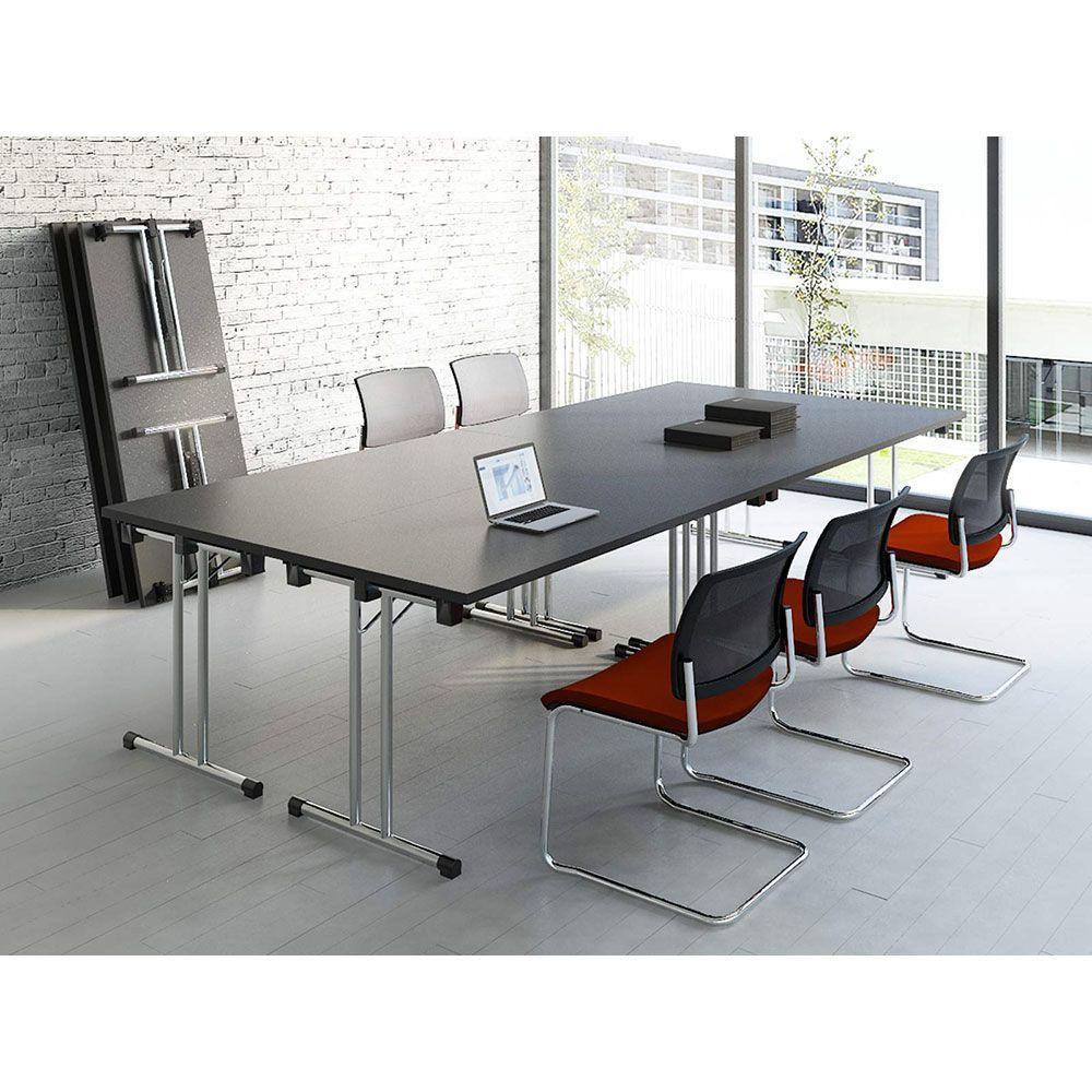 table pliante de formation. Black Bedroom Furniture Sets. Home Design Ideas