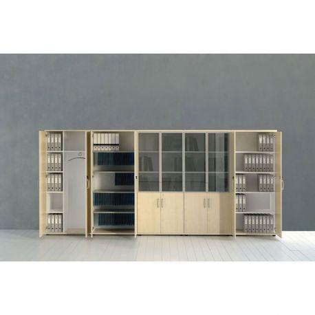 armoire de bureau bois. Black Bedroom Furniture Sets. Home Design Ideas