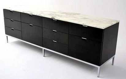 meuble marbre knoll. Black Bedroom Furniture Sets. Home Design Ideas