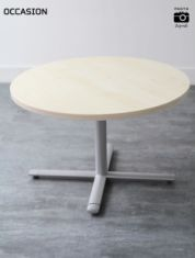 Table basse cuir blanc
