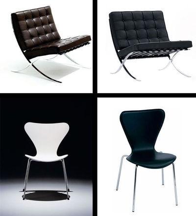 Qu est ce qu un vrai mobilier de bureau design le blog simon - Copie meubles design ...
