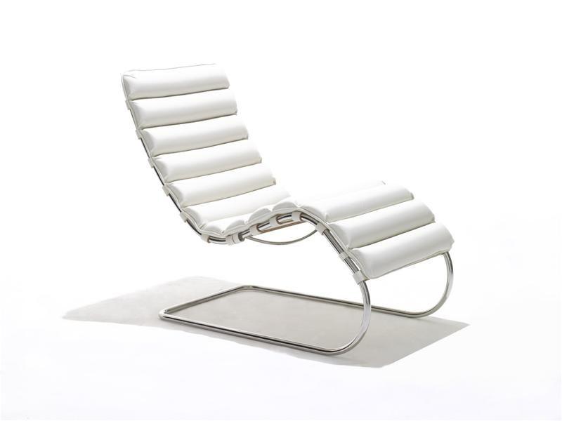 chaise ludwig van der Rohe BAUHAUS