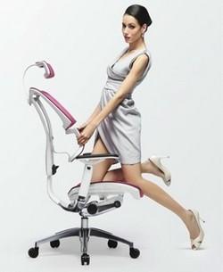 Ergonomie du fauteuil de bureau le blog simon for Norme ergonomique bureau