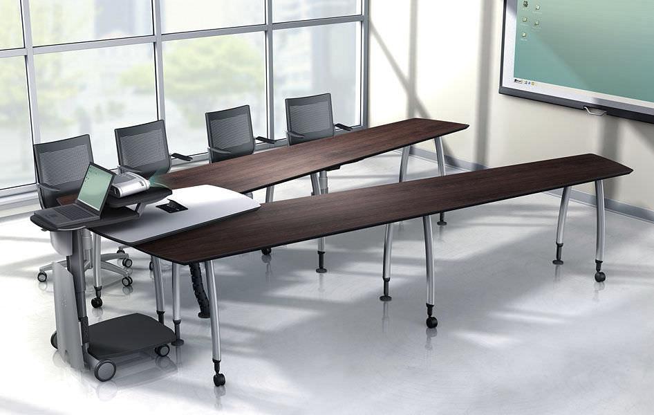 choisir la table de r union qu il vous faut le blog simon. Black Bedroom Furniture Sets. Home Design Ideas